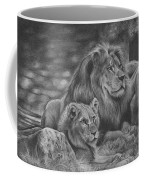 Lion Family Coffee Mug