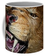 Lion Fractal Coffee Mug