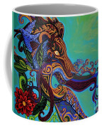 Lion Gargoyle Coffee Mug