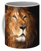 Lion Head Oil Painting Coffee Mug