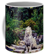 Lion In A Concrete Jungle Coffee Mug