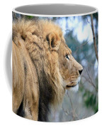 Lion In Thought Coffee Mug