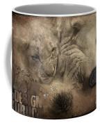 Lion Love Big And Small Coffee Mug