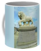 Lion On The North Side Coffee Mug