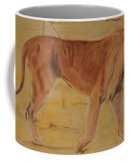 Lion On The Plain Coffee Mug