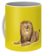 Lion Painting Coffee Mug