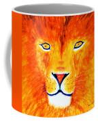 Lion Selfie Color Pop Coffee Mug