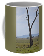 Lion Under Tree Coffee Mug