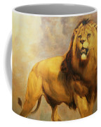 Lion  Coffee Mug by William Huggins