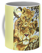 Lioness And Son Coffee Mug