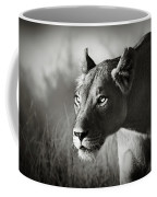 Lioness Stalking Coffee Mug