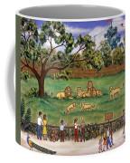 Lions At The Zoo Coffee Mug