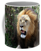 Lions Of The Masai Mara, Kenya Coffee Mug
