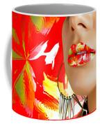 Lips Radiance Coffee Mug