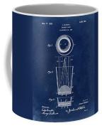 Liquershot Glass Patent 1925 Blue Coffee Mug