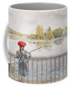 Lisbeth Angling. From A Home By Carl Larsson Coffee Mug
