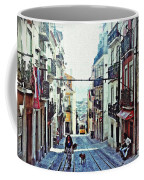 Lisboa Tram Route Coffee Mug