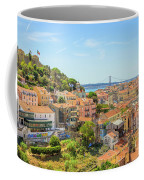 Lisbon Aerial View Coffee Mug