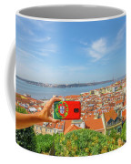 Lisbon Pictures Aerial Coffee Mug
