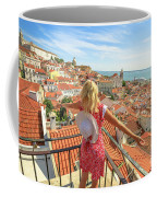 Lisbon Tourist Viewpoint Coffee Mug