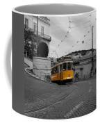 Lisbon Trolley 10c Coffee Mug