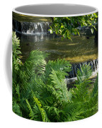 Listen To The Babbling Brook - Green Summer Zen Coffee Mug