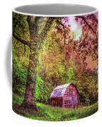 Little Barn In The Smokies Coffee Mug