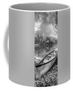 Little Bit Of Heaven Black And White Panorama Coffee Mug