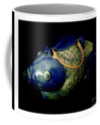 Little Blue And White Fish Tea Pot Still Life Coffee Mug