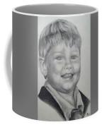 Little Boy Portrait Coffee Mug