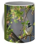Little Chickadee In The Pink Coffee Mug