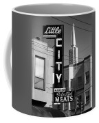Little City Market North Beach San Francisco Bw Coffee Mug