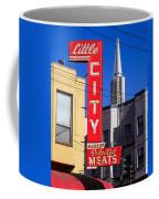 Little City Sign North Beach Coffee Mug