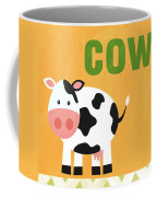 Little Cow Coffee Mug by Linda Woods
