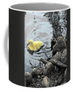 Little Ducky 2 Coffee Mug by Angelina Vick