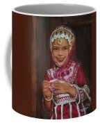 Little Girl In India Coffee Mug