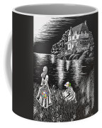 Little Girls Coffee Mug by Svetlana Sewell