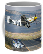P51 Mustang Little Horse Gear Coming Up Friday At Reno Air Races 5x7 Aspect Signature Edition Coffee Mug by John King