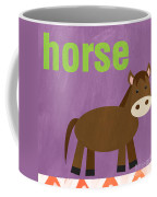 Little Horse Coffee Mug by Linda Woods