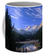 Little Lakes Valley Panorama Coffee Mug