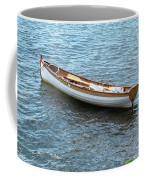 Little Mahagony Boat Coffee Mug by Sally Sperry