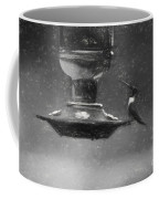 Little Male Hummingbird In Charcoal Coffee Mug