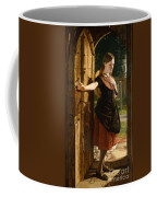 Little Nell Leaving The Church Coffee Mug by James Lobley