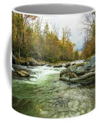 Little Pigeon River Greenbrier Area Of Smoky Mountains Coffee Mug
