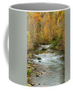 Little Pigeon River In Fall Smoky Mountains National Park Coffee Mug