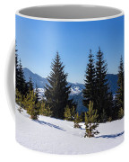 Little Pine Forest - Impressions Of Mountains Coffee Mug