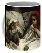 Little Red Riding Hood Coffee Mug by Gustave Dore