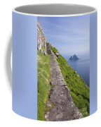 Little Skellig Island, From Skellig Michael, County Kerry Ireland Coffee Mug