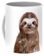 Little Sloth Coffee Mug by Amy Hamilton