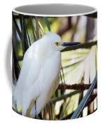 Little Snowy Egret Coffee Mug